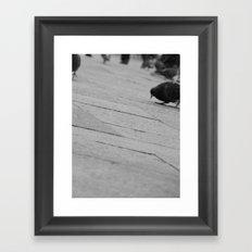 Bird's eye view Saint Mark's Square Framed Art Print