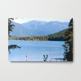 Whistler Lake Metal Print