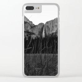Yosemite Falls VI Clear iPhone Case