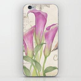 Macro flower #11 iPhone Skin