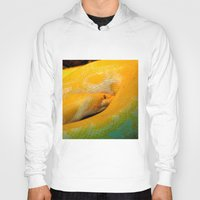 monty python Hoodies featuring Albino Python by GardenGnomePhotography