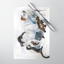 Awesome mustelids Wrapping Paper