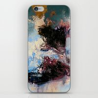 murakami iPhone & iPod Skins featuring CATHARTIC by THE USUAL DESIGNERS
