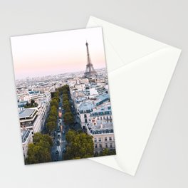 Paris City Stationery Cards