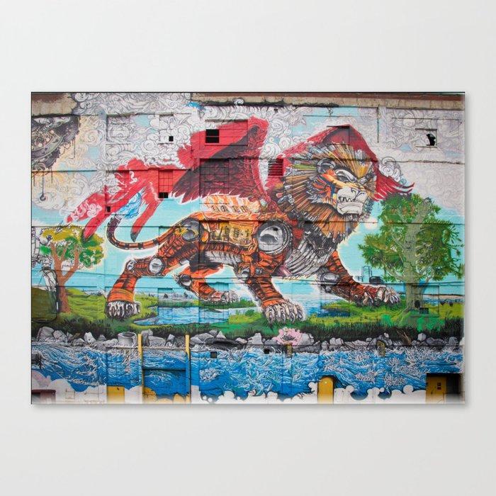 Detroit Chimera ( kī-ˈmir-ə ) Leinwanddruck