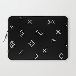 Lost Simbols Laptop Sleeve