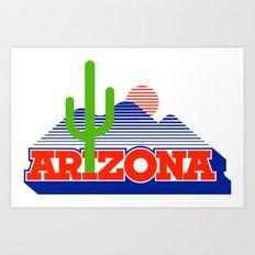 Sweet Home Arizona Art Print