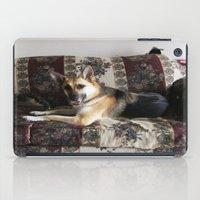german shepherd iPad Cases featuring Tara the Diva German Shepherd by Klacey's Photography