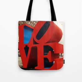 Love Sculpture - NYC Tote Bag