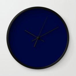 Moonlight Blue Wall Clock