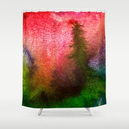 SOLO TREE Shower Curtain