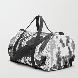 greyscale dragon Duffle Bag
