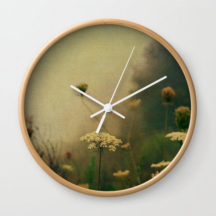 Ethereal Fog Wall Clock