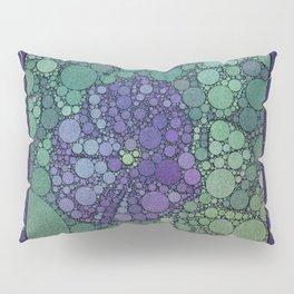 Percolated Purple Potato Flower Pillow Sham