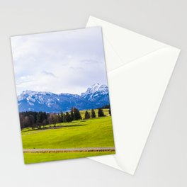 Peaceful Field Stationery Cards
