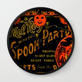 Spook Party Wall Clock