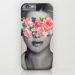Sad eyes iPhone Case