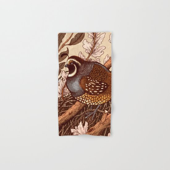 Little Quail Hand & Bath Towel