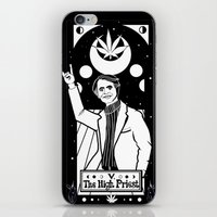 carl sagan iPhone & iPod Skins featuring HAIL SAGAN! by LADYMAGICUNICORN