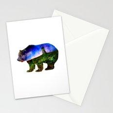 Bear Windmill Stationery Cards