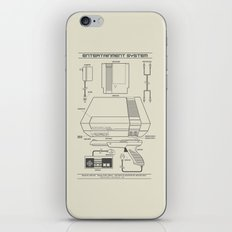 Entertainment System (light) iPhone & iPod Skin