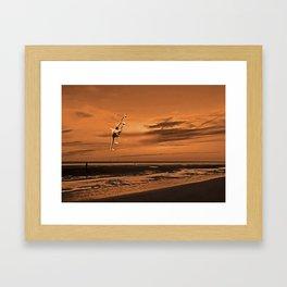 War Plane (Digital Art) Framed Art Print