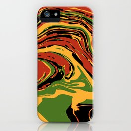 Groovy Marble iPhone Case