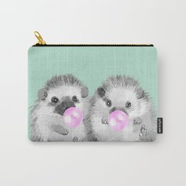 Playful Twins Hedgehog Carry-All Pouch