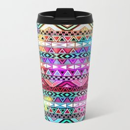 Colorful Tribal best decoration design ideas Metal Travel Mug