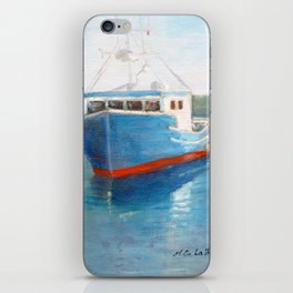 Back From Fishing iPhone Skin