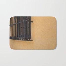 Orange Wall Bath Mat