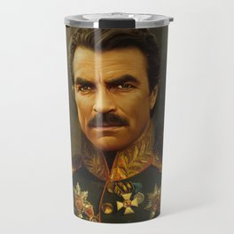 Tom Selleck - replaceface Travel Mug