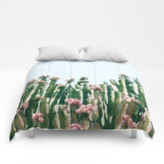 Blush Cactus #society6 #decor #buyart Comforters