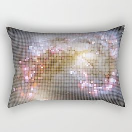Pixel Nebula Rectangular Pillow