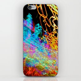 City (Light)s (Graffiti) 3 iPhone Skin