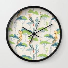 Hoopoe Heaven Wall Clock