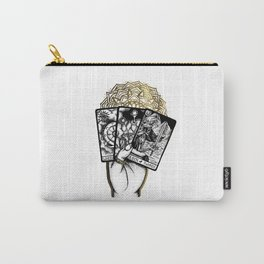 Gold Tarot Carry-All Pouch