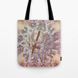 "HUGE GRANT ""FLESHY"" Tote Bag"