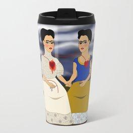 Frida Kahlo - Ladies Fridas Travel Mug