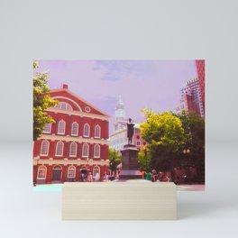 Faneuil Hall Mini Art Print