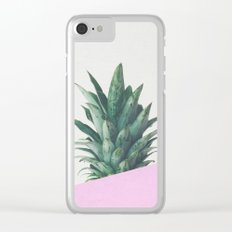Pineapple Dip Clear iPhone Case