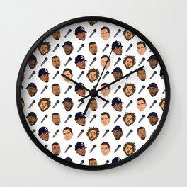 Rappers FL Wall Clock