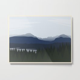 Port Moody (no writing) Metal Print