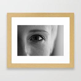 Bailey's Moment Framed Art Print