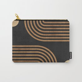 Arches - Minimal Geometric Abstract 2 Carry-All Pouch
