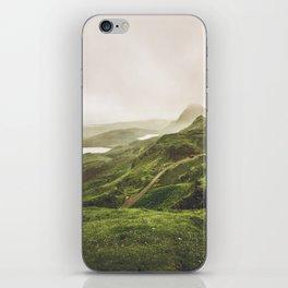 Over the Sea to Skye iPhone Skin