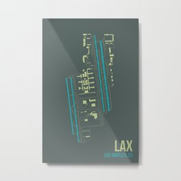 LAX Metal Print