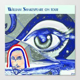 """Willshakespeare"" Canvas Print"