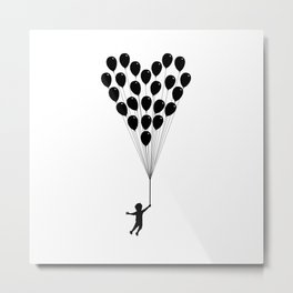 Balloons of love Metal Print