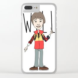 WILL Clear iPhone Case